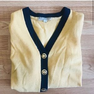 St. John button knit cardigan